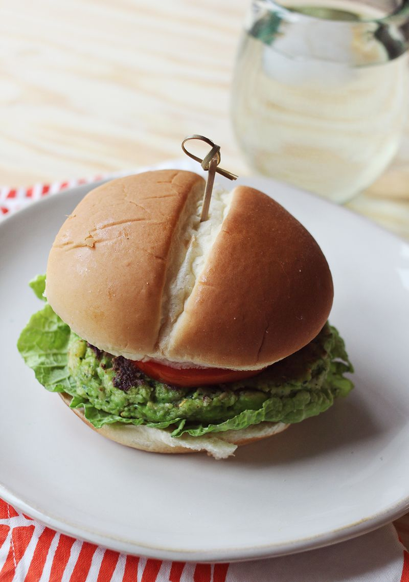 Delicious and healthy veggie burgers!