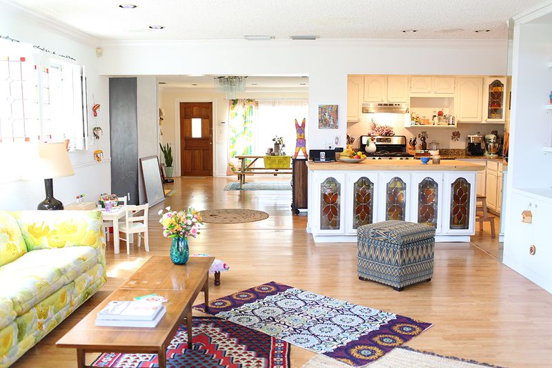 Drea Duclos' lovely living space