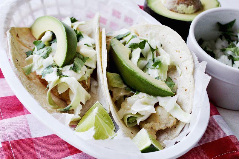 Make fish tacos at home