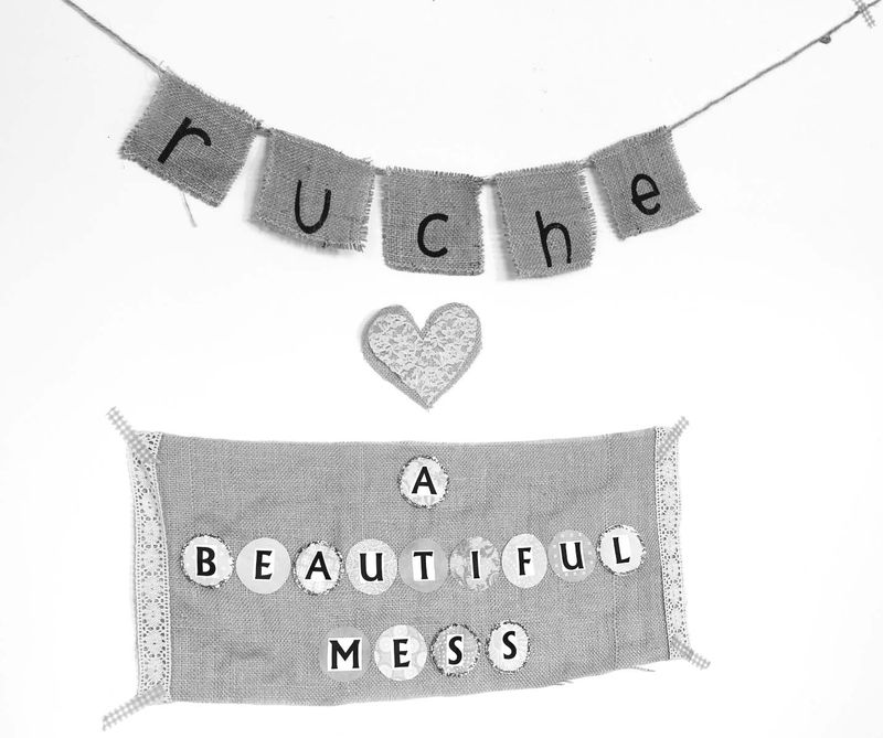 Behind The Scenes- A Beautiful Mess + Ruche 1