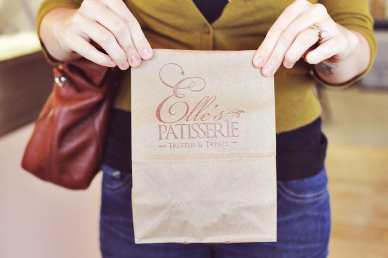 Katie at Elle's Patisserie