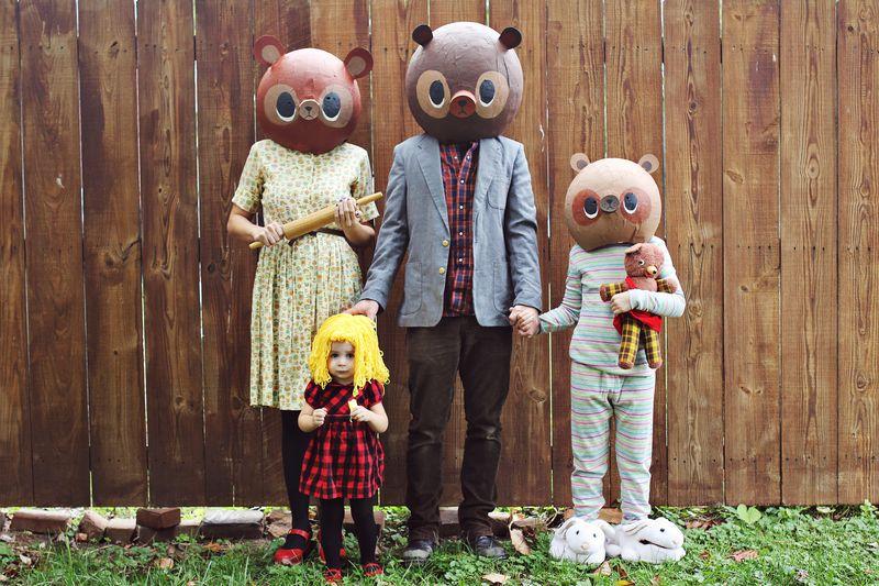 Goldilocks The Three Bears Costume