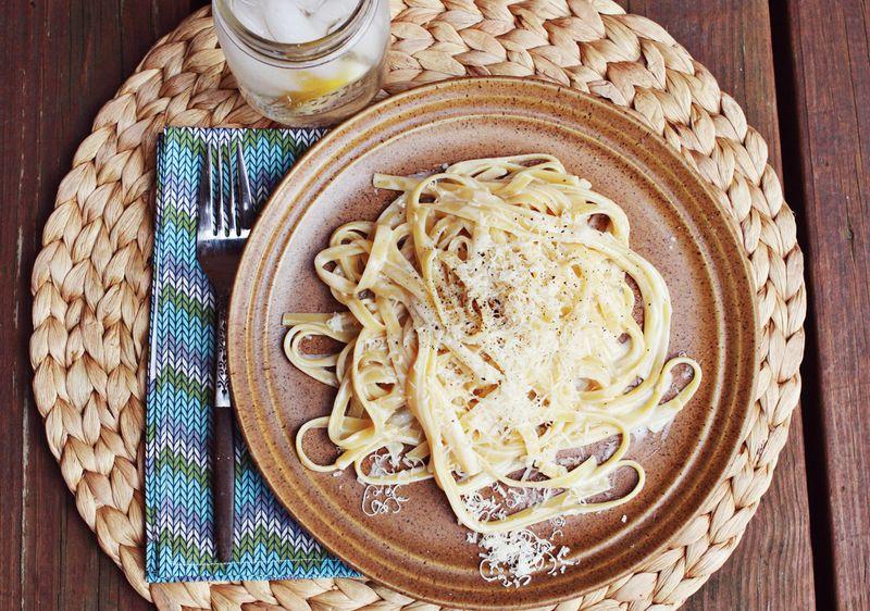 Fettuccine sauce