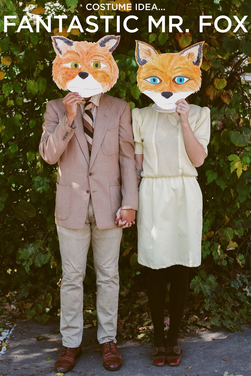 Childrens Adorable Fantastic Fox One Piece Fun Animal Fancy Dress Party Costume