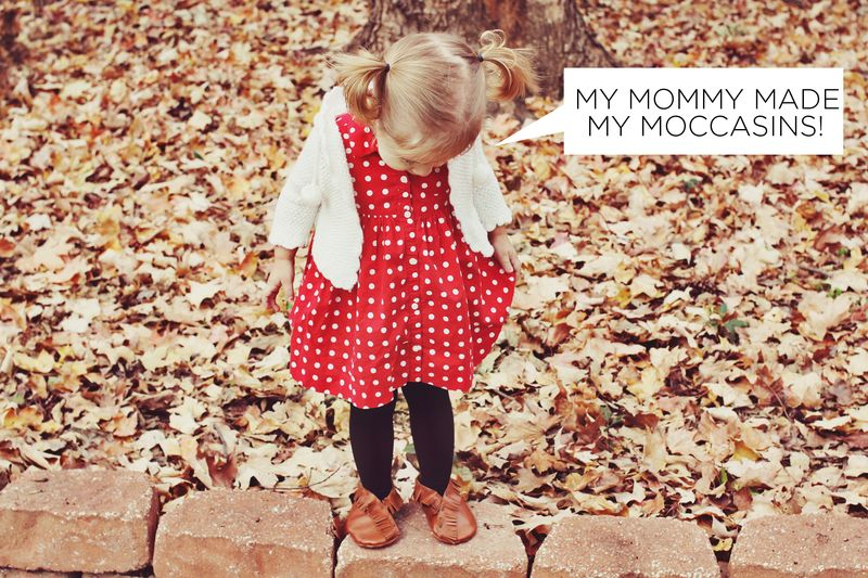 DIY Moccasins for Children