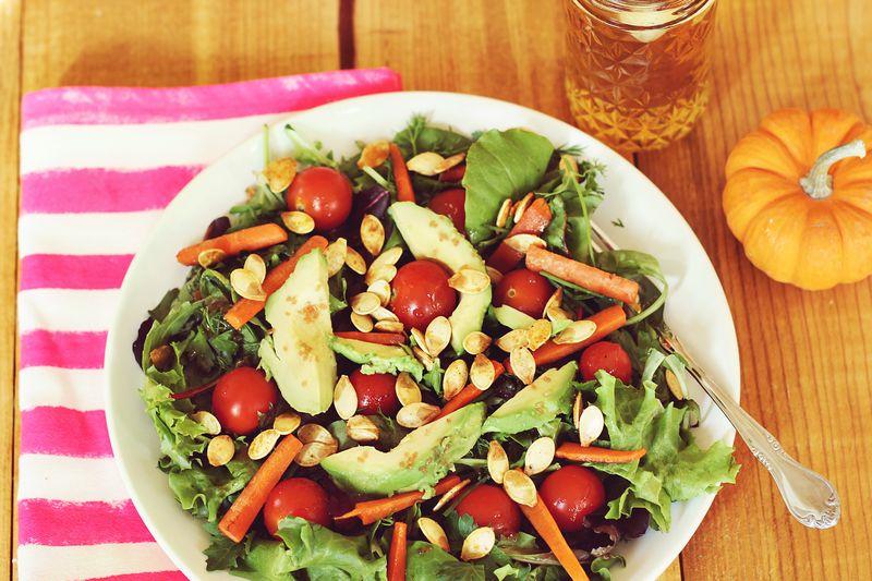 Pumpkin Seed Salad