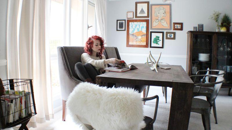 At Home With Savannah Wallace via A Beautiful Mess