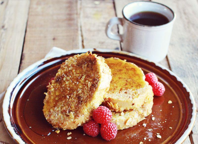 Crispy french toast recipe