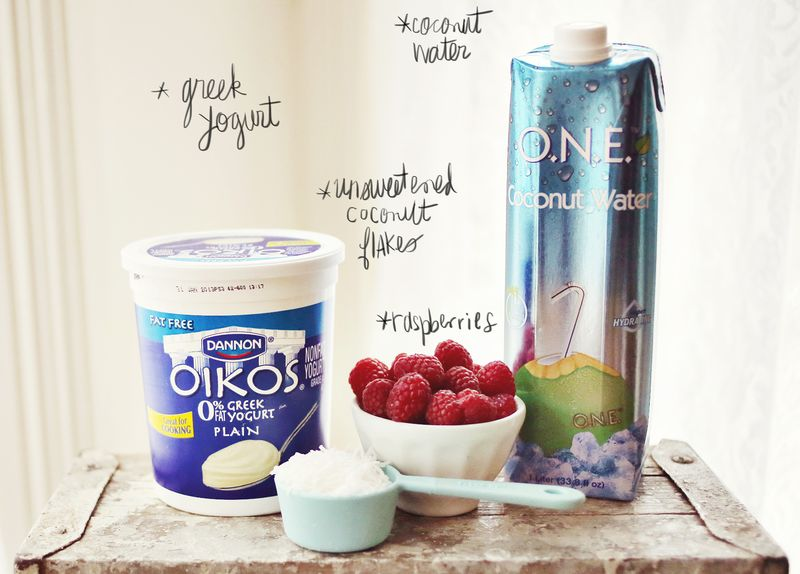 Raspberry Smoothie List
