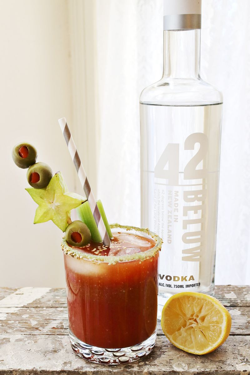 Wasabi Bloody Mary (via A Beautiful Mess)