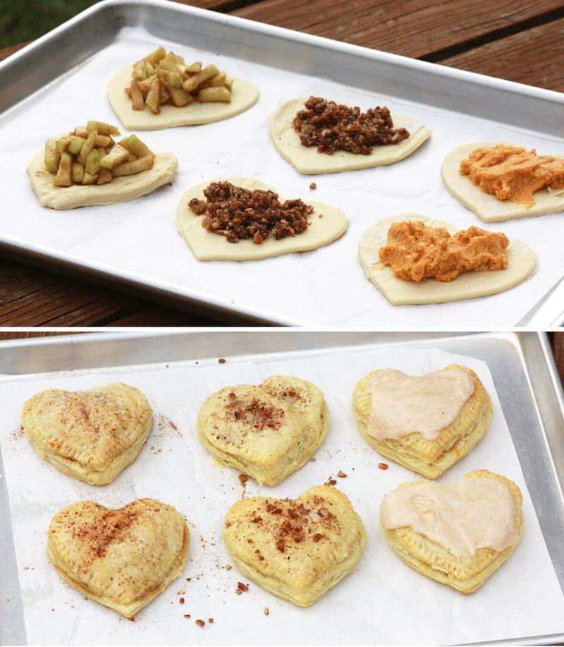 Pie inspired pop tarts