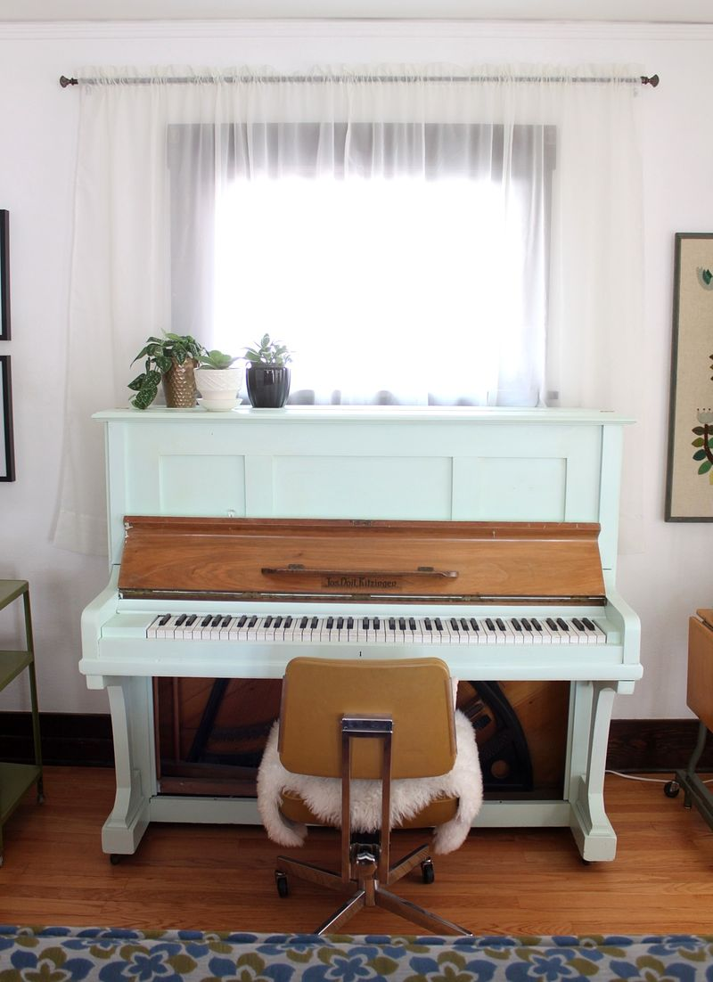 Lovely repainted piano