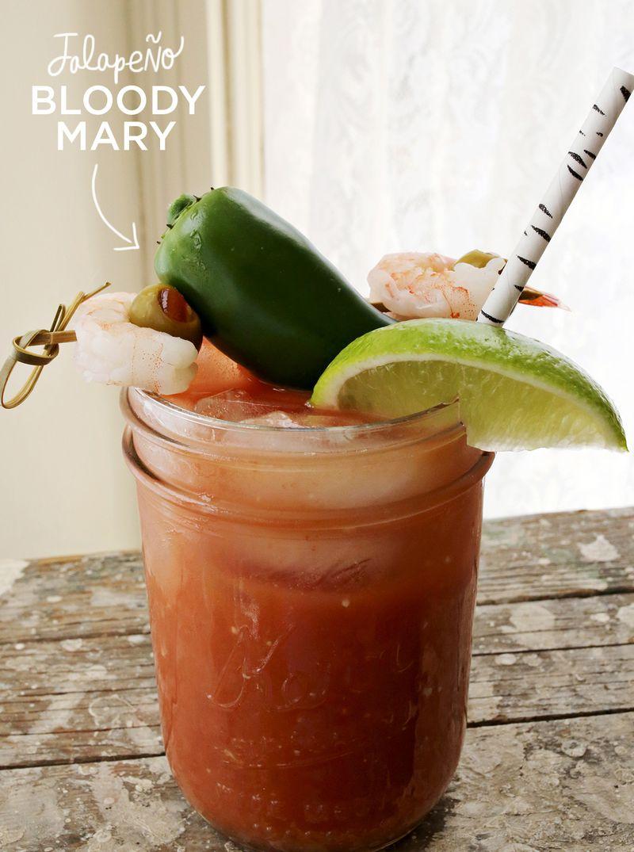 Jalapeño Bloody Mary - A Beautiful Mess