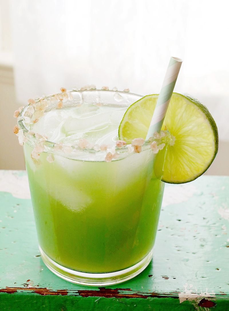 Mmmm! cucumber margarita recipe