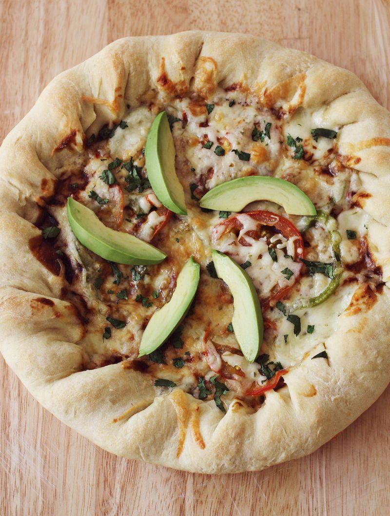 Perfect cast iron pan pizza