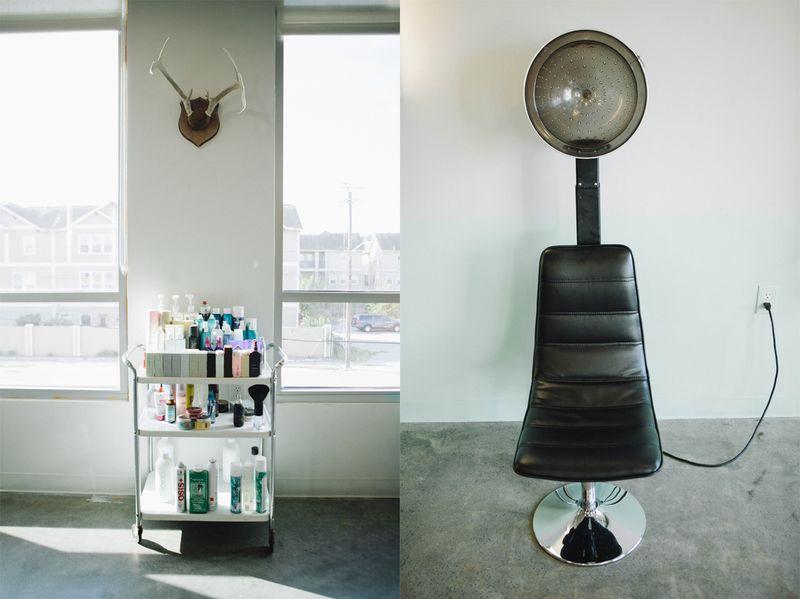 Lovely salon set up