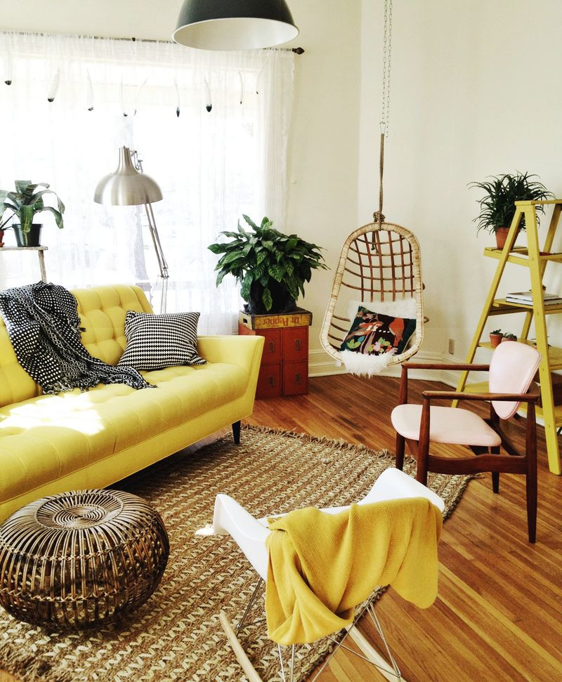 Elsie's living room : A Beautiful Mess