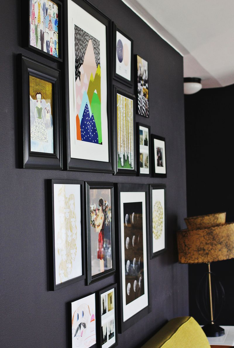 How to make your own gallery wall