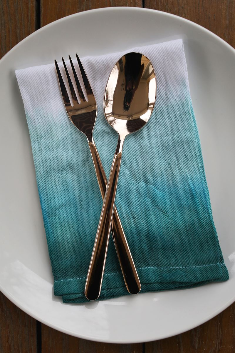 Double Dip Dyed Napkin Set