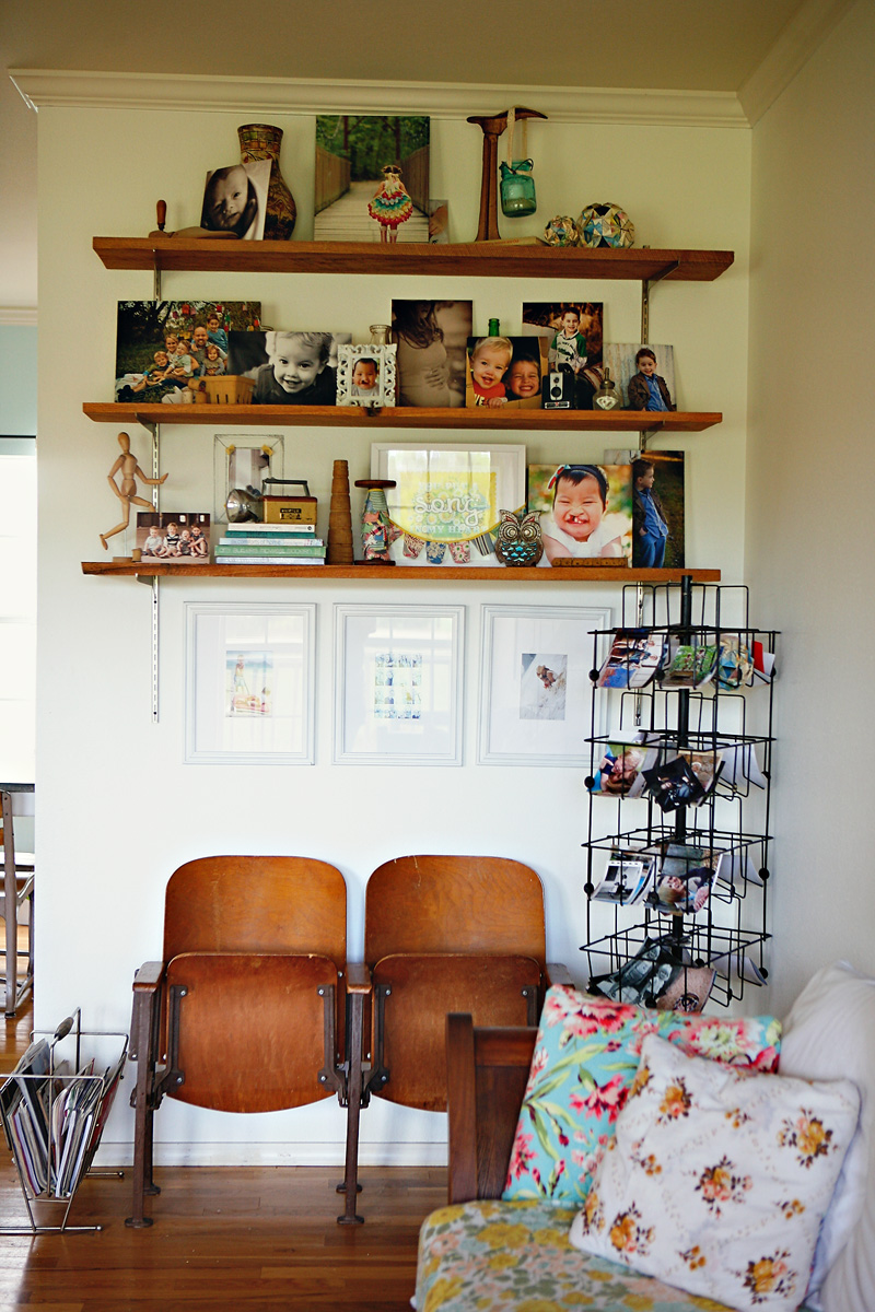 Ashley Campbell's beautiful home via A Beautiful Mess