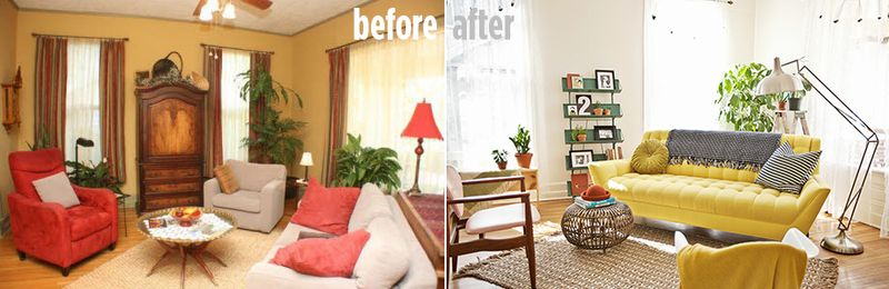Before + after