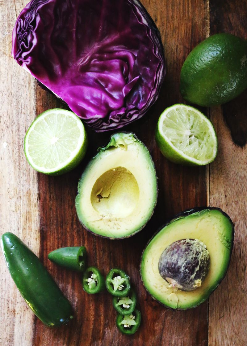 Jalapeno guacamole recipe www.abeautifulmess.com