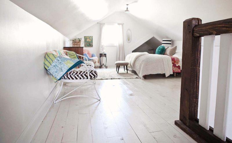Beautiful white washed floors