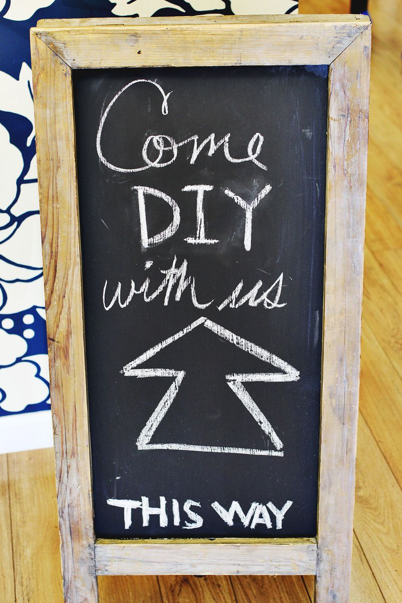 Come DIY with us!