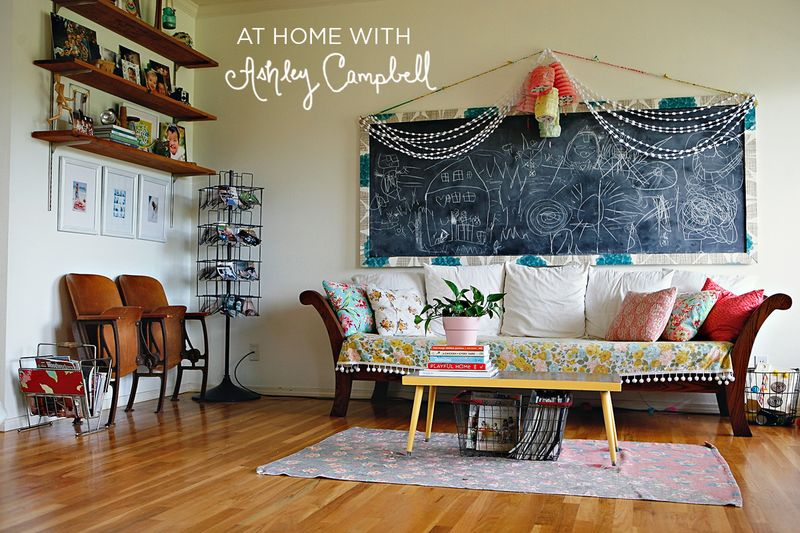 At Home With Ashley Campbell