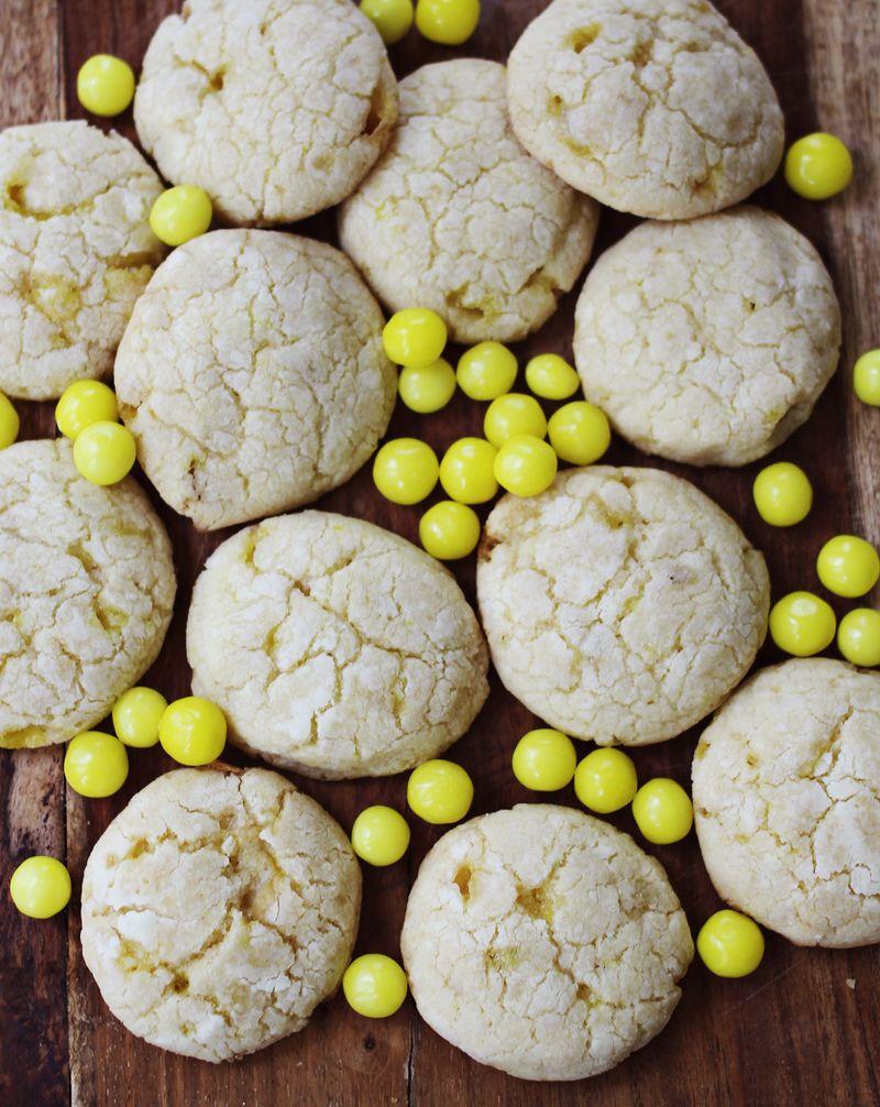 Lemonhead Cookies!