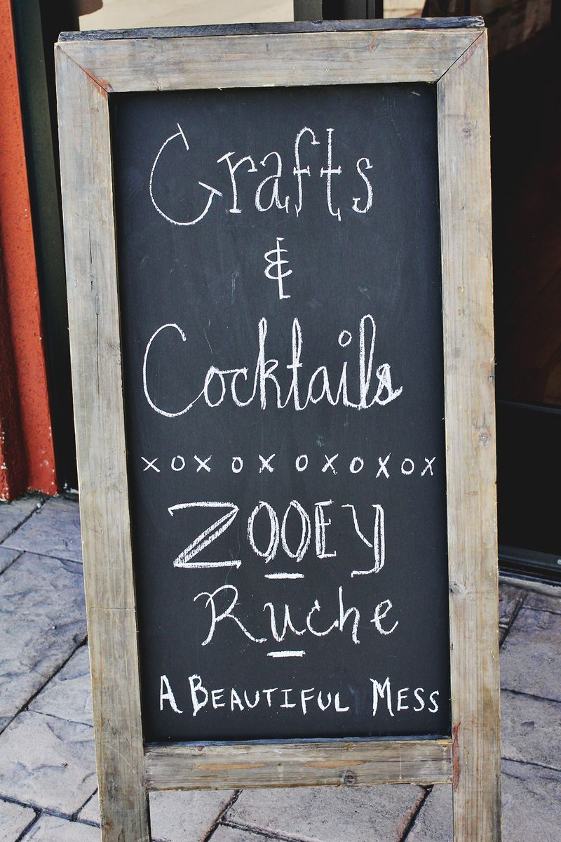 Crafts & Cocktails Party