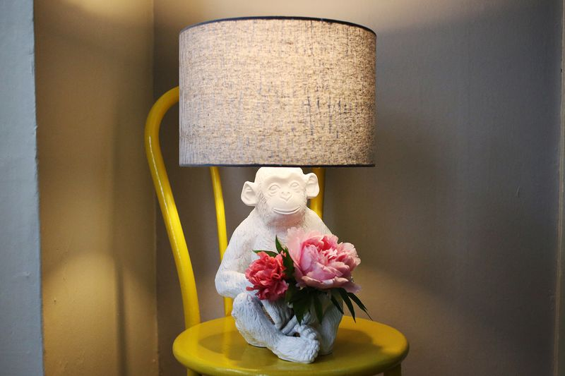 Monkey Lamp Makeover A Beautiful Mess