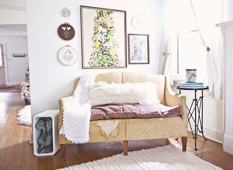 Lovely vintage living room