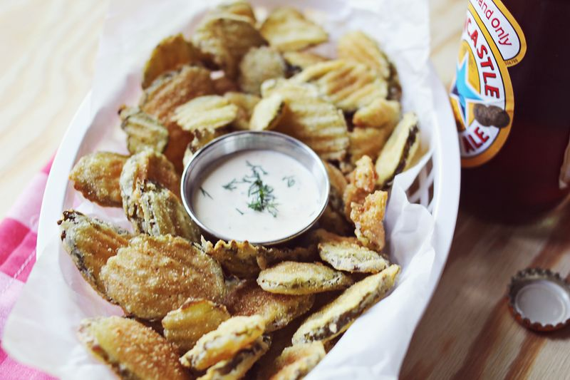 The best fried pickle recipe