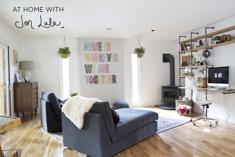 At Home With Jen Lula