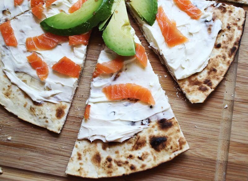 Lox Pizza www.abeautifulmess.com