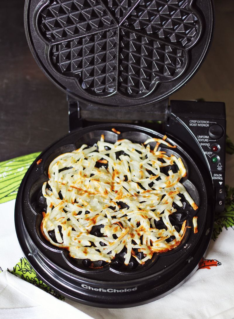 Technique for making awesome hashbrowns
