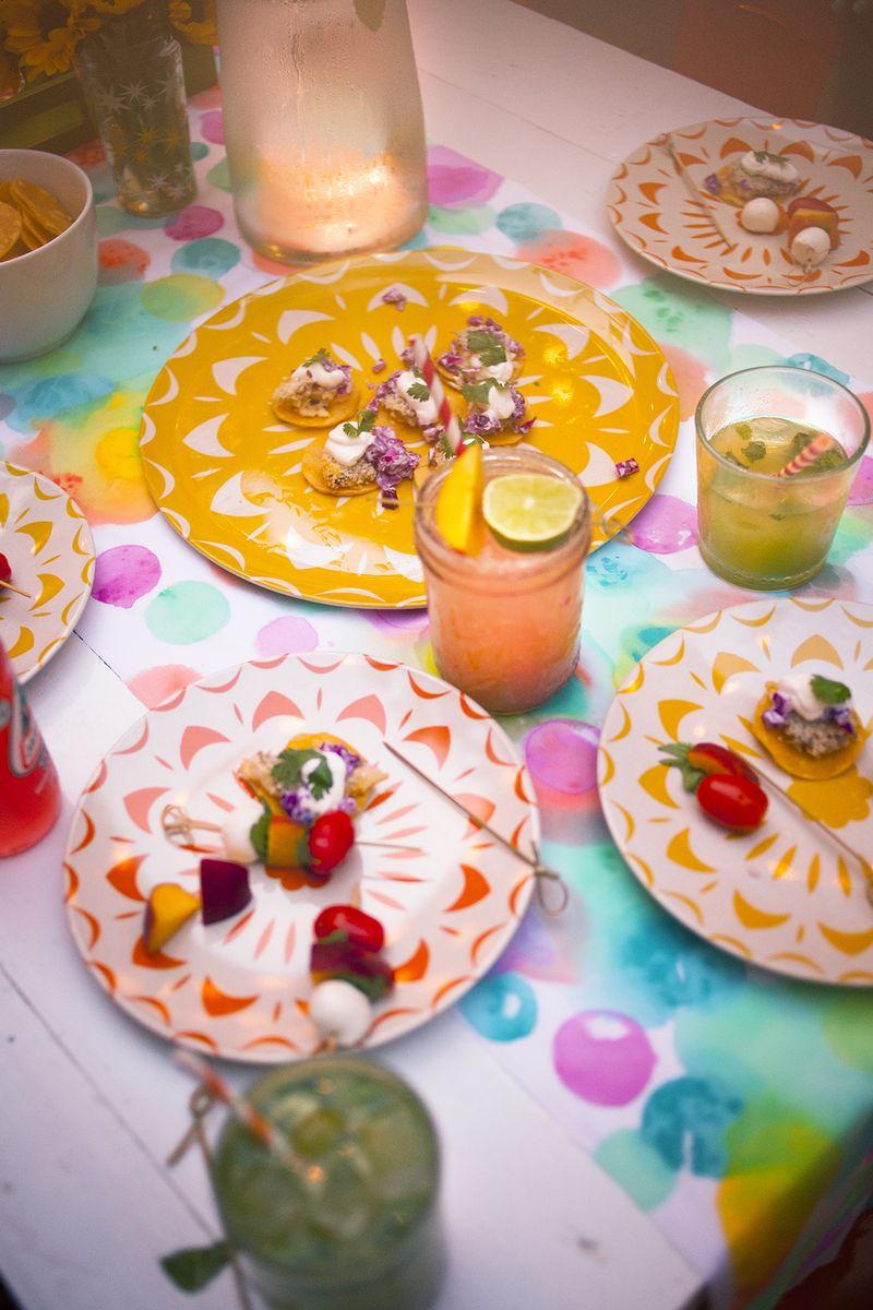 Mini Fish Tacos www.abeautifulmess.com