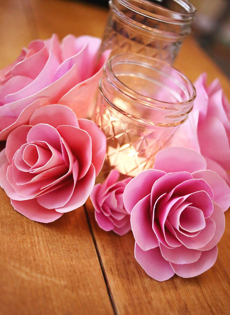 How to make paper flowers a beautiful mess how to make paper flowers mightylinksfo