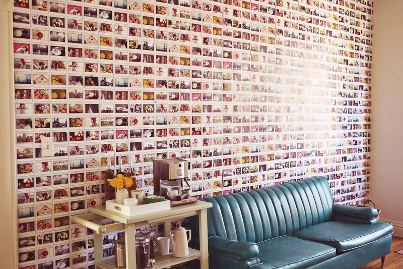 DIY instax wall paper
