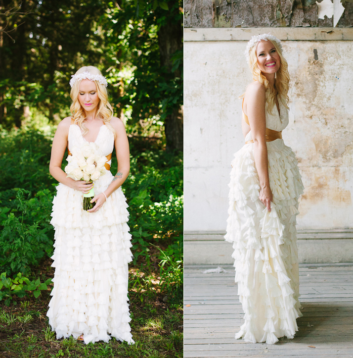Emma's diy wedding dress