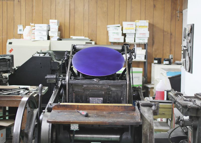 Letter press