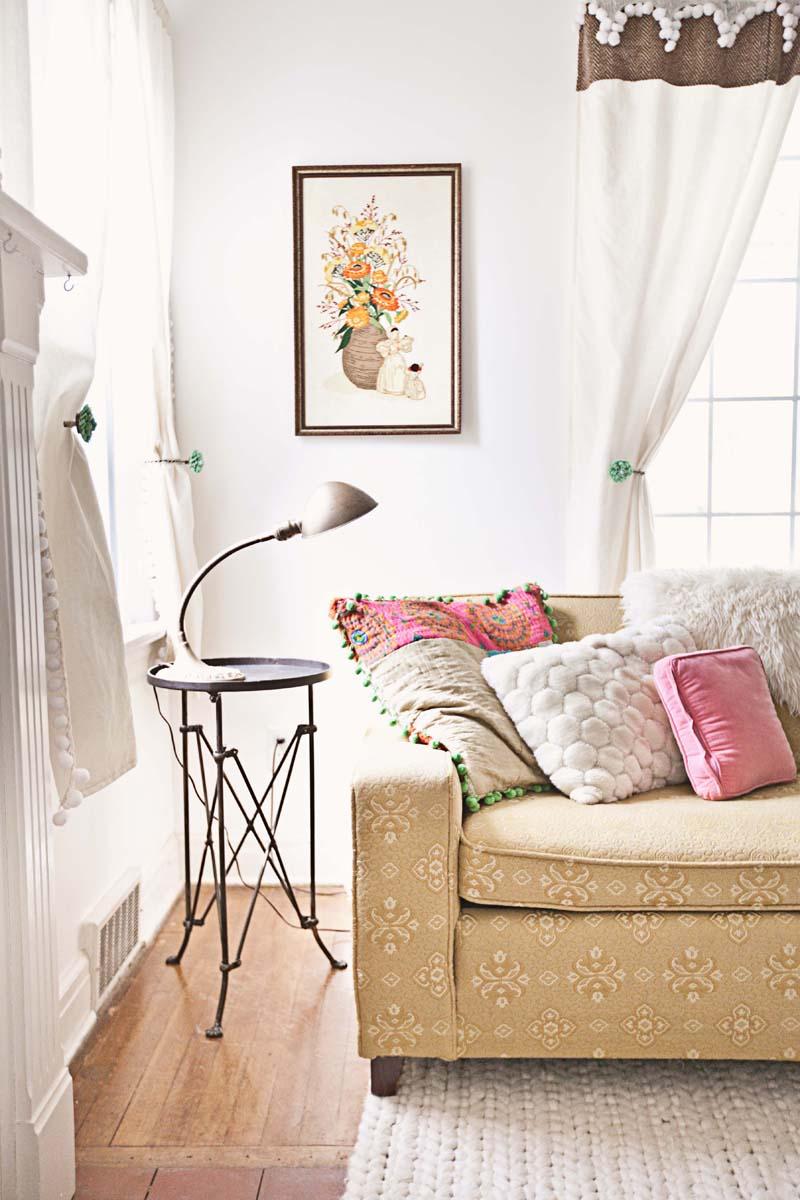Beautiful vintage living room