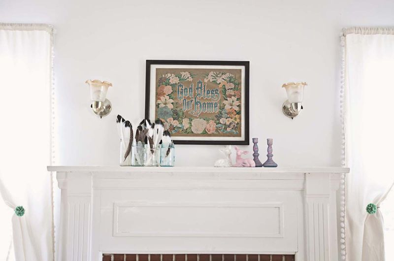 Lovely mantle