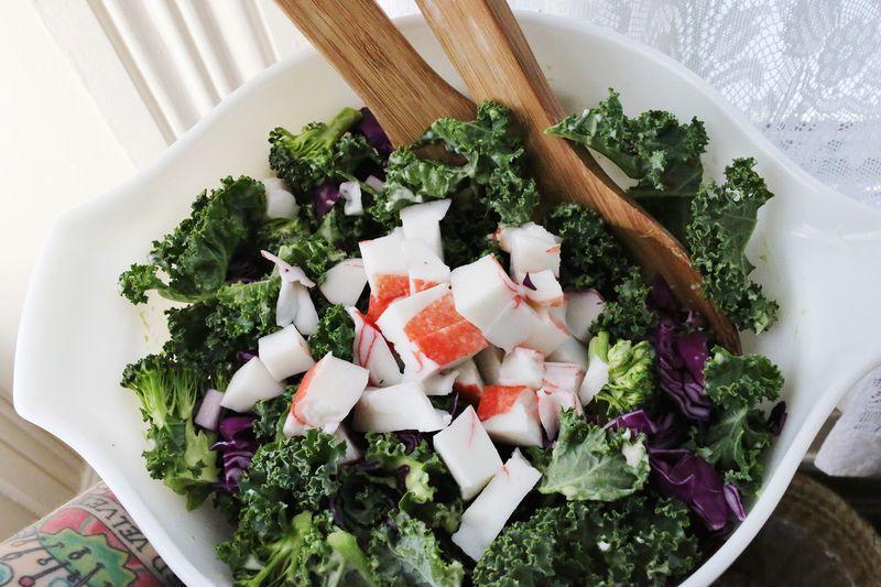 Sushi Salad with Kale