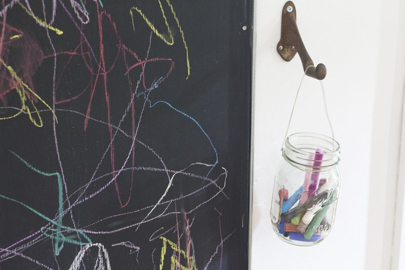 Clever way to store chalk