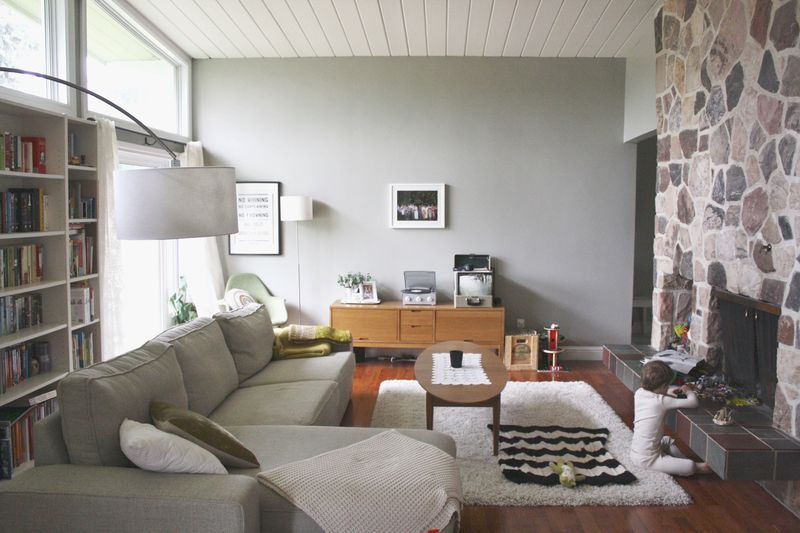 Beautiful living room via A Beautiful Mess
