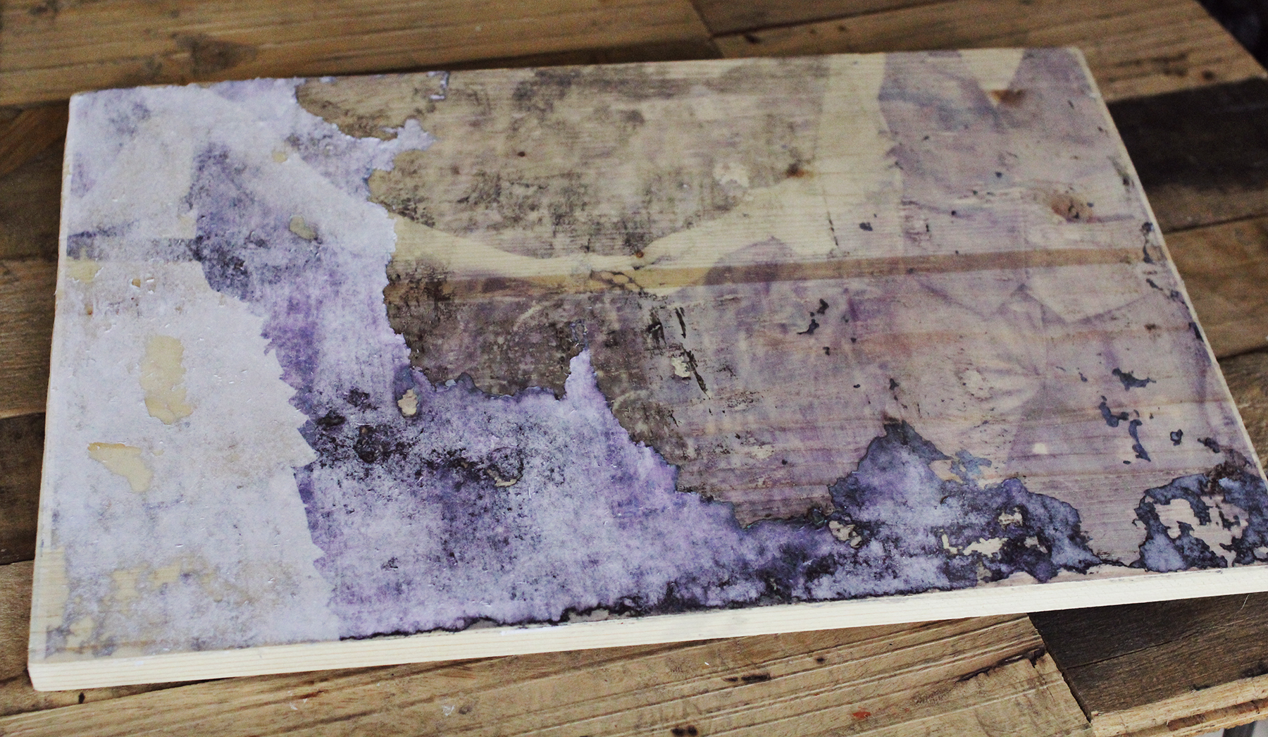 Trouble shooting wood transfers using ink jet printers