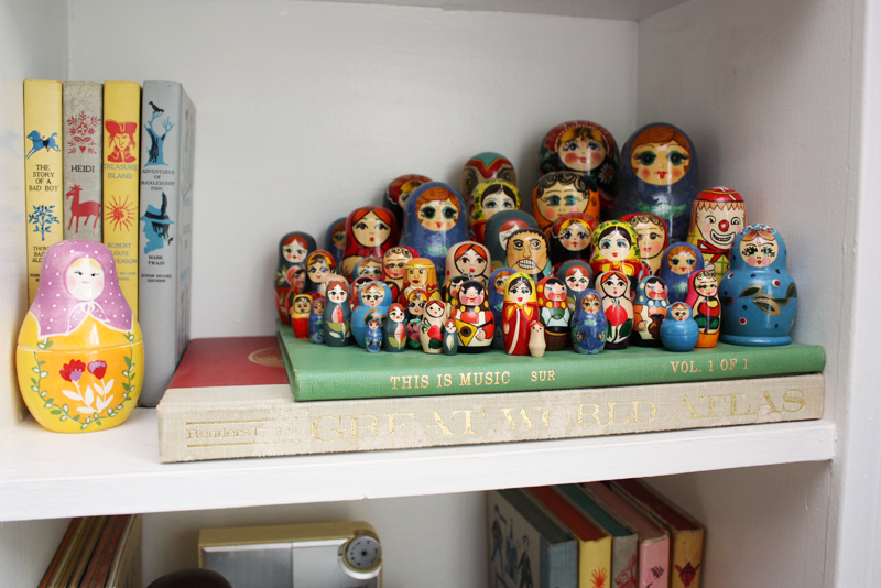 The sweetest nesting doll collection