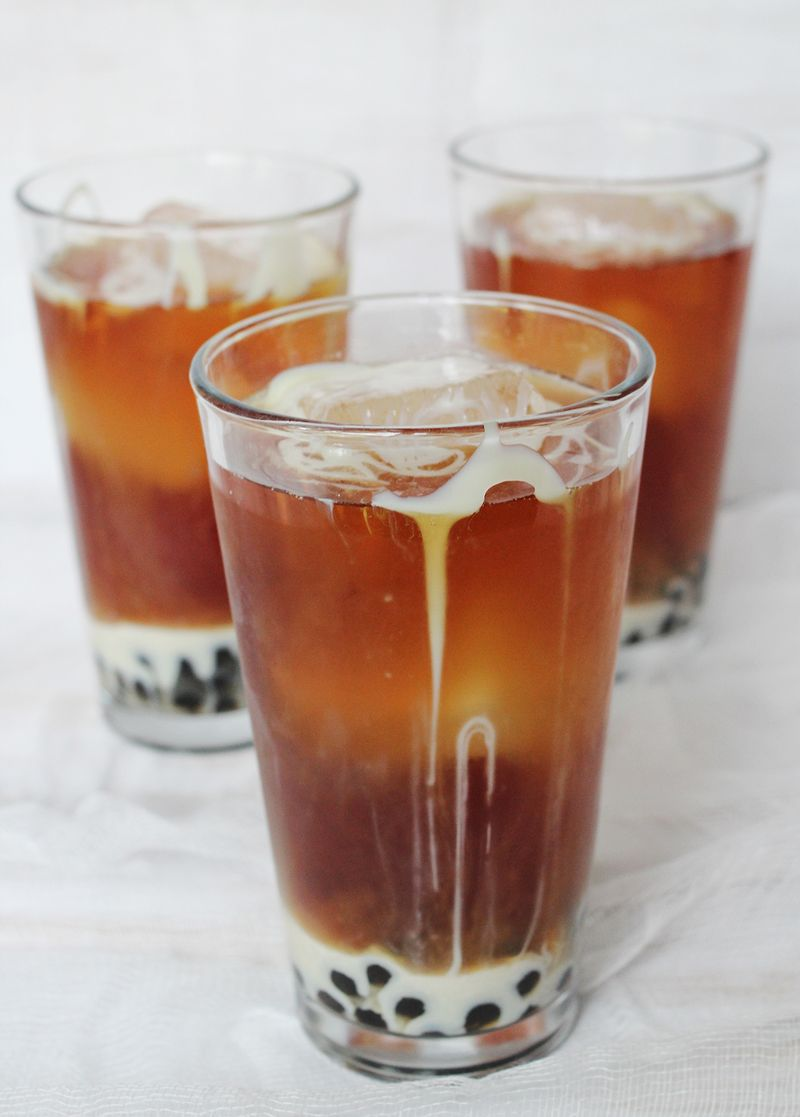 Ice thai recipe www.abeautifulmess.com